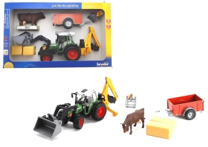 Fendt Tractor Play Set