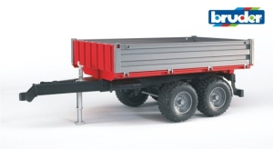 Tipping Trailer Red/Grey