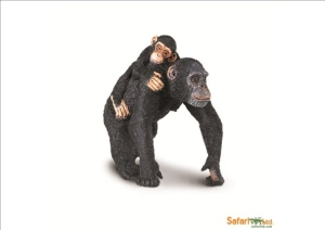Chimpanzee with Baby (3 I)
