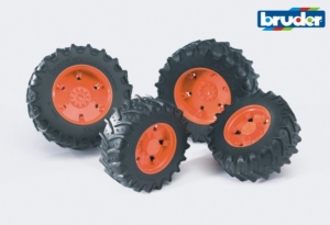 (SP) Dual Wheels 3000 Orange
