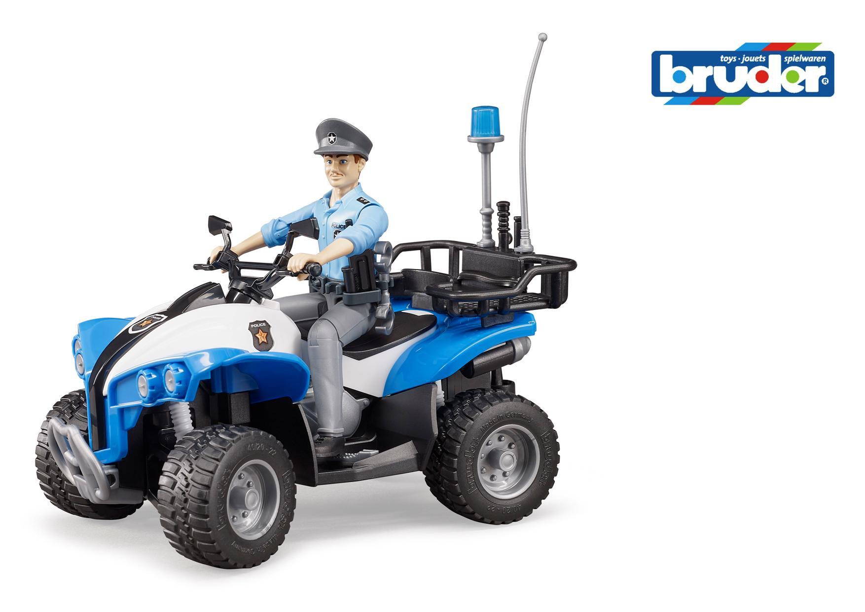 Policeman on Quad Bike
