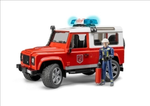 Land Rover Fire Vehicle