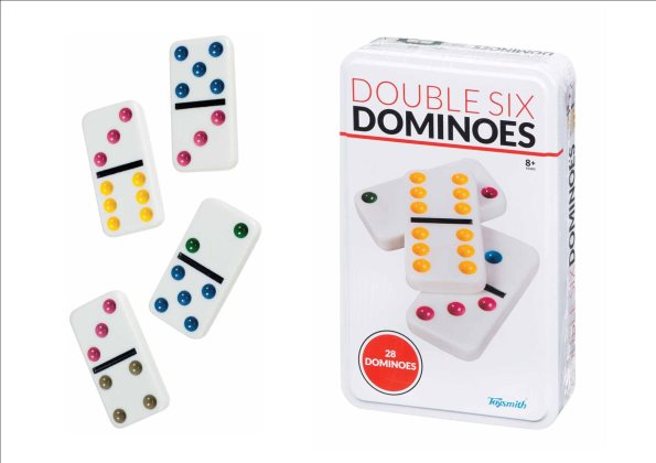 Double Six Dominoes