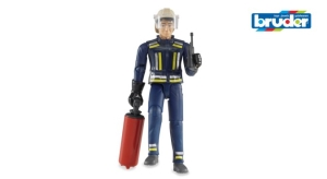 Figure - Fireman with Accessories