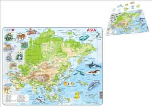 (SP) Map of Asia Puzzle