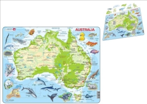 (SP) Map of Australia Puzzle