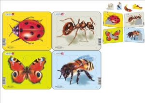 Insects Puzzle (4 Inner)