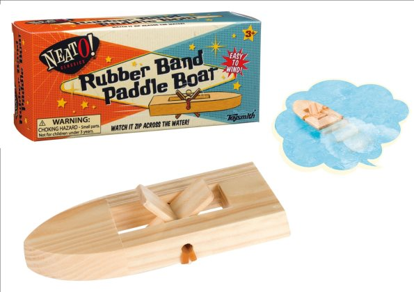 Neato Wooden Paddle Boat (18 I)