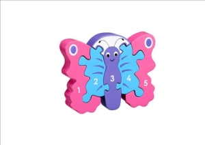 1-5 Puzzle - Butterfly