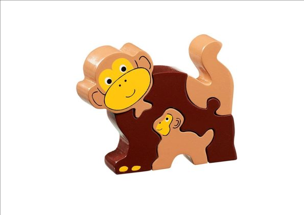 Simple Puzzle - Monkey & Baby