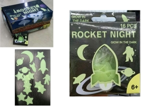Glow Rockets and Stars