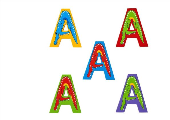 Animal Letters - A