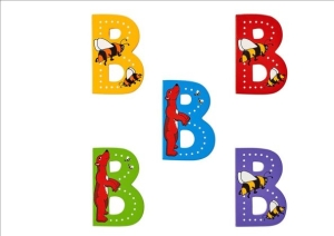 Animal Letters - B
