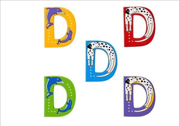 Animal Letters - D