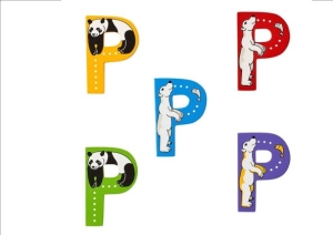 Animal Letters - P