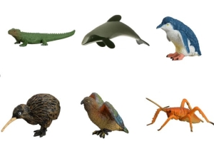 NZ Wildlife Figures (Bag 36 Asstd.)