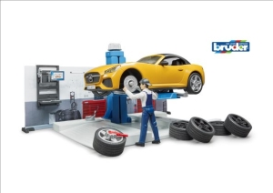 (SP) Car Service Centre Play Set
