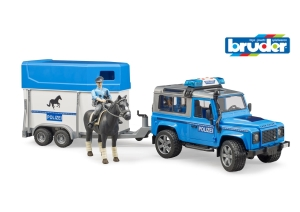Land Rover Police & Horse Float